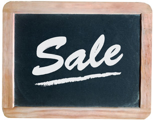"""Sale"" on blackboard"