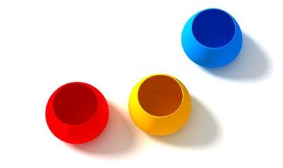 RGB pots