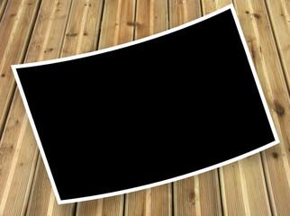 cadre pour photo courbe sur lames de deck