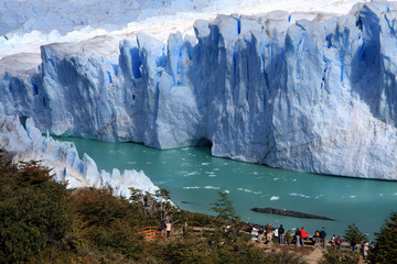 Fotobehang Gletsjers Perito Moreno glacier