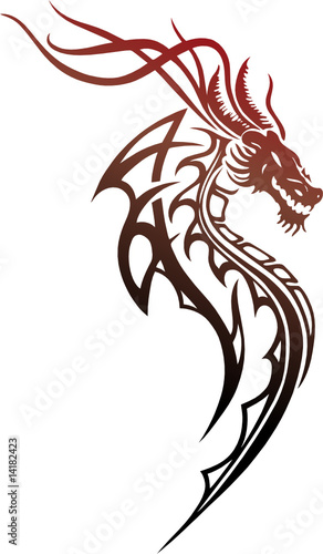 roter drache red dragon stockfotos und lizenzfreie vektoren auf bild 14182423. Black Bedroom Furniture Sets. Home Design Ideas