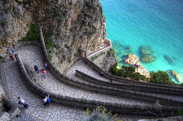 Capri, la via krupp