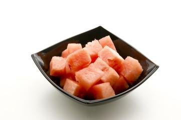 frische Wassermelone aufgeschnitten