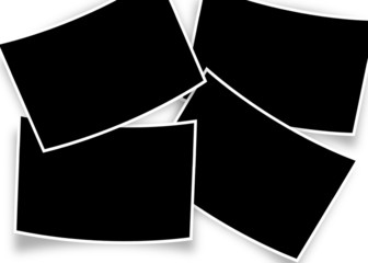 fond-cadre pour 4 photos courbes