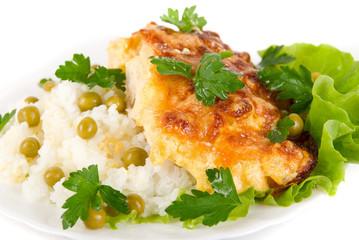 Close up of Tasty Chicken dish