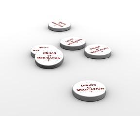 3D Tablets_DrugsAndMedicine