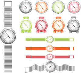 set of different watches