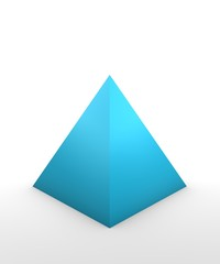 pyramid shape_3D