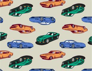 Vintage Cars seamless