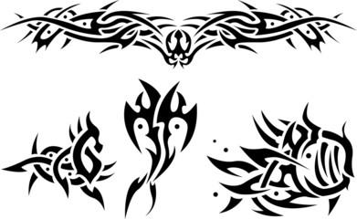Tattoos sea animals