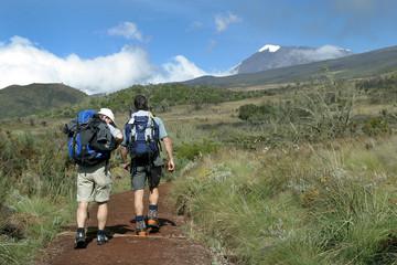 trek vers le kilimanjaro
