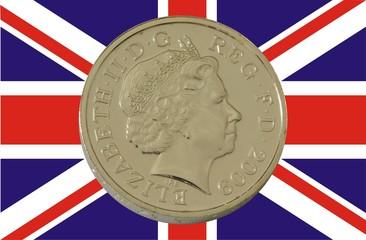 Pound on Union Jack