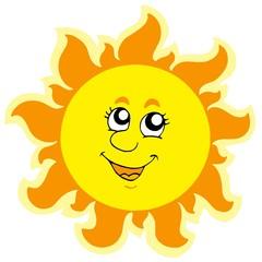 Cute summer Sun