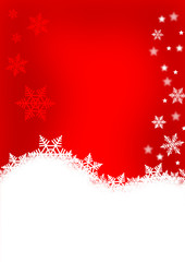 Weihnacht als Karte