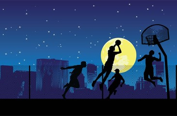 the night of streetball