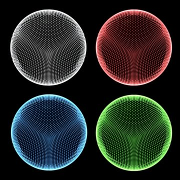 Dotted spheres