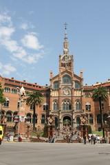 Hopital de la santa Creu i sant Pau Barcelone