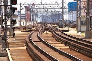 線路(北海道の始発駅 札幌)