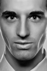 Male Fashion Portrait In Monotone