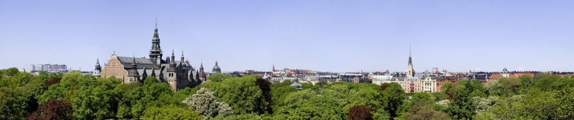 Panorama von Stockholm
