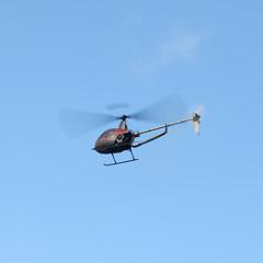 modèle réduit d'hélicoptère