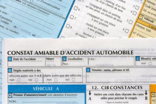 accident ,voiture,constat,amiable,automobile,assurance,malus
