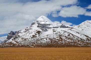 Kailash, the holiest mountain of Buddhism
