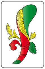 Cerca immagini scopone for Due di bastoni carte napoletane