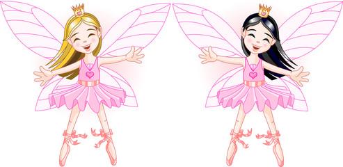 Keuken foto achterwand Magische wereld Little fairies