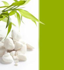 White stones and easy