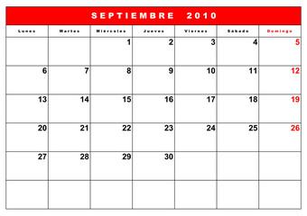 agenda 2010 españa 8