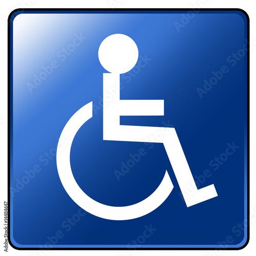 panneau handicap photo libre de droits sur la banque d 39 images image 14484647. Black Bedroom Furniture Sets. Home Design Ideas