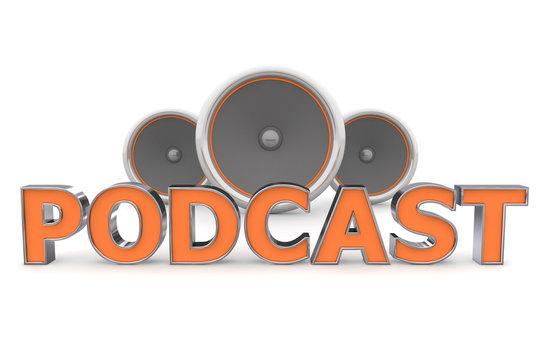 Speakers POdcast - Orange,