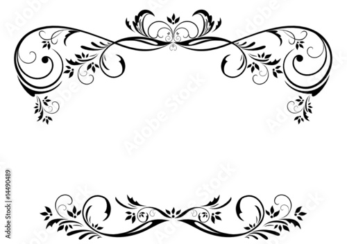 Quot Vintage Floral Frame Quot Stock Image And Royalty Free Vector