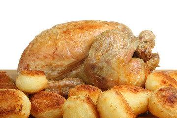 Roast Chicken & Potatoes
