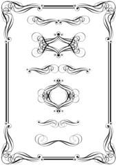 Design element and frame