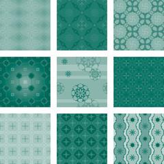 nine seamless pattern