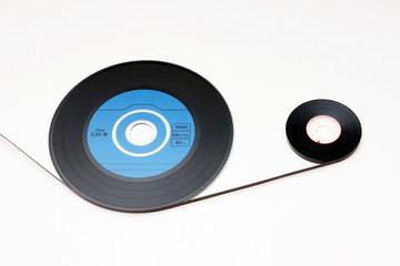 musik-cd und tonband