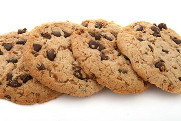 cookies, gâteaux aux pépites de chocolat