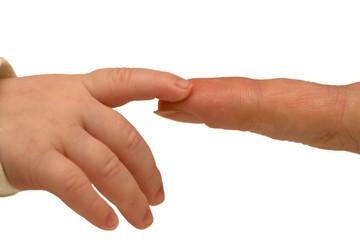 finger to finger