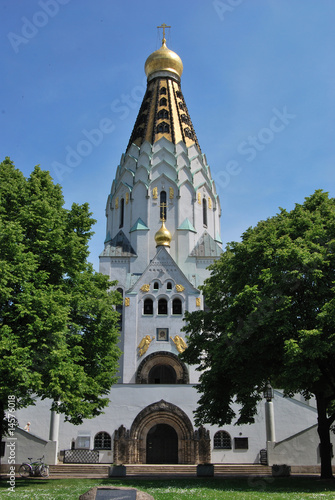 russische kirche in leipzig stockfotos und lizenzfreie bilder auf bild 14576018. Black Bedroom Furniture Sets. Home Design Ideas