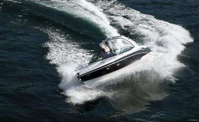 Tuinposter Water Motor sporten Formula Boat