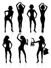 Seven woman.