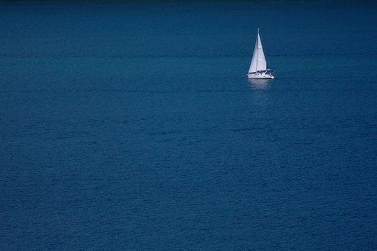 Sailboat on Seneca Lake