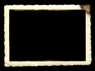 Antique photo frame with space for your image