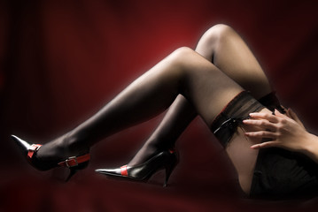 Woman legs with shoes #01