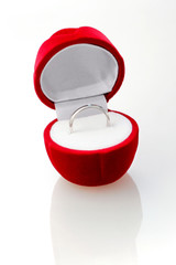 Diamond ring in the red box.