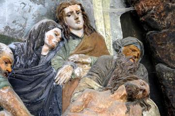 Sacro Monte della SS. Trinità di Ghiffa, Verbania: la Via Crucis