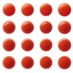 neu button rot