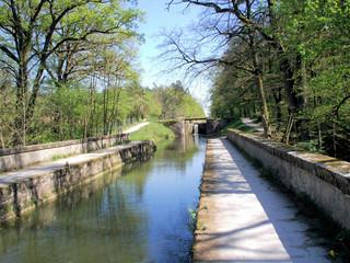 Jakobsweg: Kanalbrücke bei Röthenbach